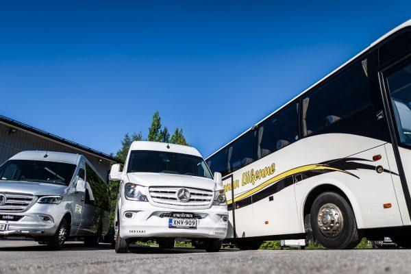 Pohjois-Satakunnan liikenne- Autoesittely